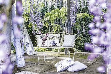 1-Waterperry-Fabrics-Carousel-Flowers-Violet