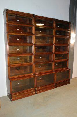 Engelse Boekenkast Glas.Antieke Boekenkast Grote Antieke Engelse Boekenkast Van