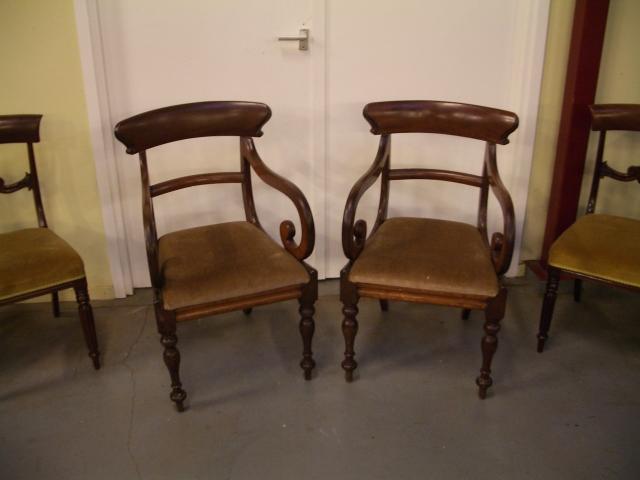 Twee Antieke Fauteuils.Set Van 2 Antieke Stoelen Antiek Arcade Beekbergen En
